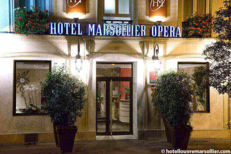 hotel louvre marsollier