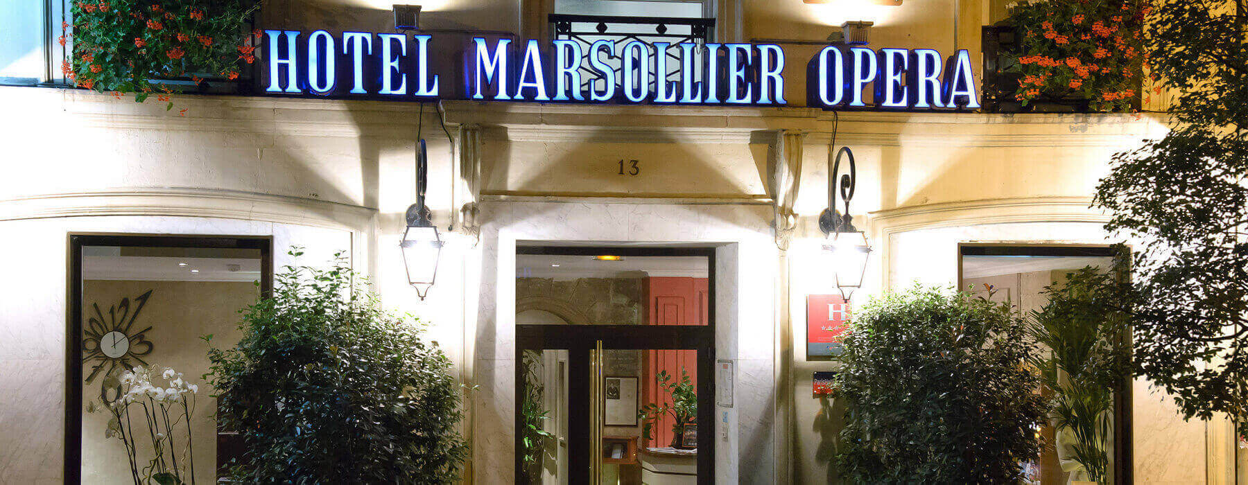 Hotel Louvre Marsollier Paris